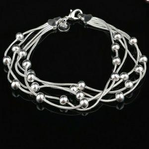 Jewelry - TRENDY .925 STERLING SILVER BRACELET